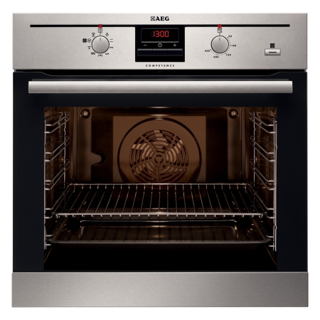 AEG BE330362KM, Multifunction Electric Double Oven Stainless Steel with Programmer