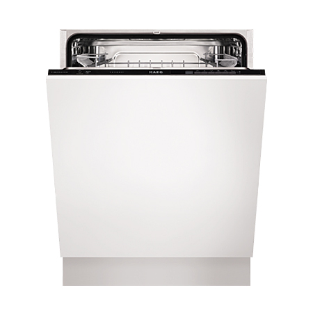 AEG F55320VI0, Fully-Integrated Dishwasher with Button Controls
