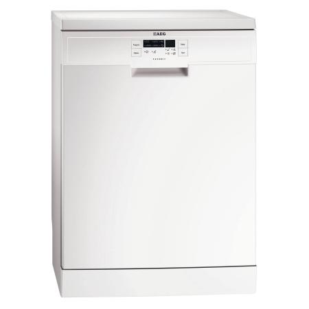 AEG F56303W0, Freestanding 60cm Dishwasher White