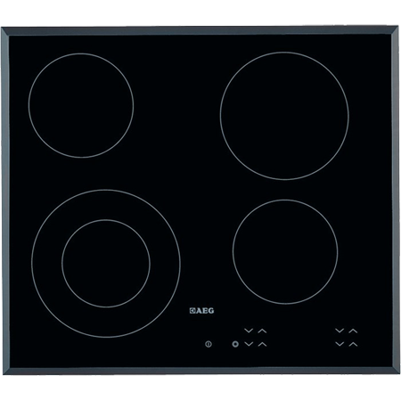 AEG HK624010FB, 60cm Ceramic Hob with Touch Controls
