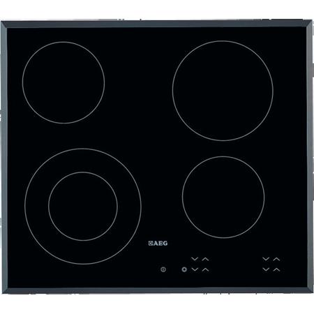 AEG HK624010FB, 60cm Ceramic Hob with Touch Controls