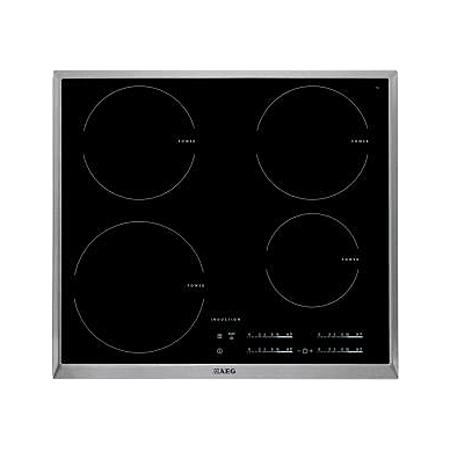 AEG HK654200XB, 4 Zone Induction Hob with TouchSlider Controls