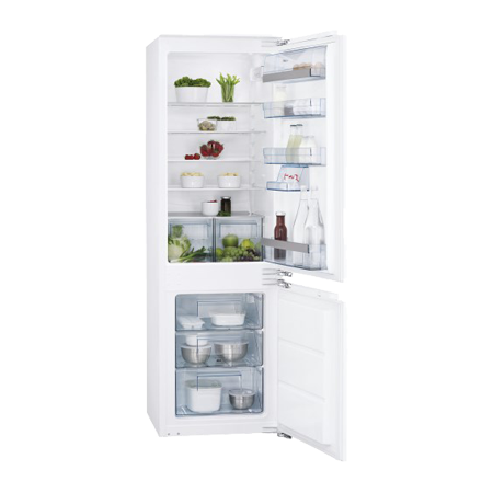 AEG SCS51800F1, Built-In Low Frost Fridge Freezer - A+ Energy Rating