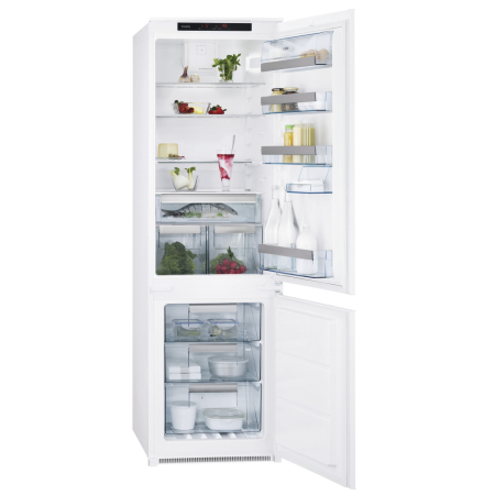 AEG SCT71809S0, Built-In 54cm Frost Free Fridge Freezer White