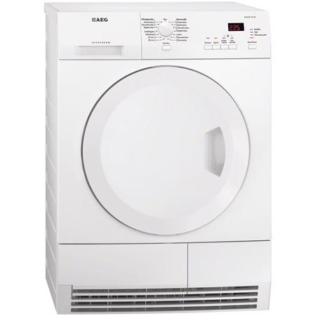 AEG T61270AC, Freestanding 7kg Condenser Dryer in White