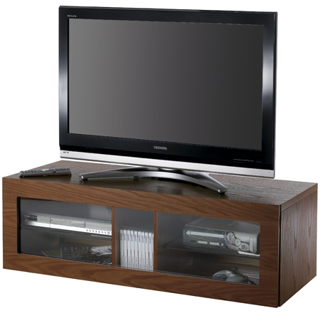 Alphason ABR1100-W, Ambri Series Fully Enclosed Cabinet for Flat Screen TVs upto 50.