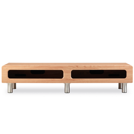 Alphason ABR1350CBLO, Cabinet for up to 60 inch TVs in Light Oak