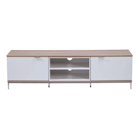 Alphason ADCH1600WHT, 1600mm Cabinet Stand in White
