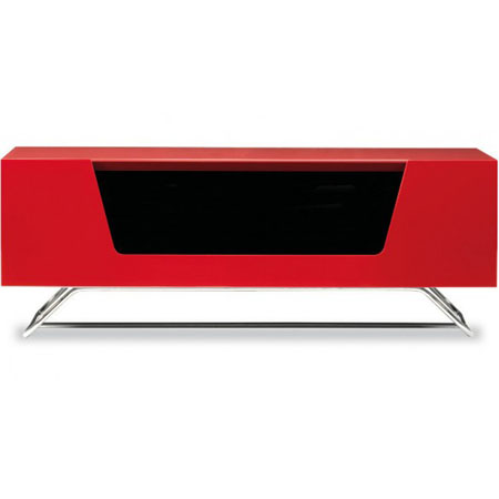 Alphason CR021000CBRED, Cabinet for Flat Screen TVs up to 50 in Red