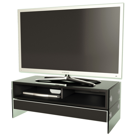 Alphason EVT1000-BLK, Event Series TV Stand with Built-In Sound