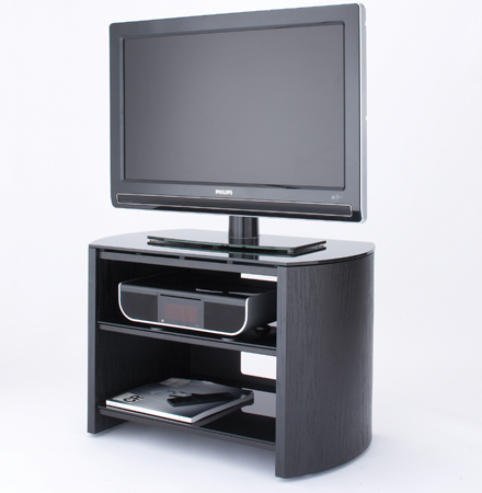Alphason FW750BVB, Finewoods Series Universal Support For Flat Screen TVs up to 37