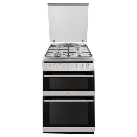 Amica 608DGG2TSXXX, 60cm Double oven gas cooker