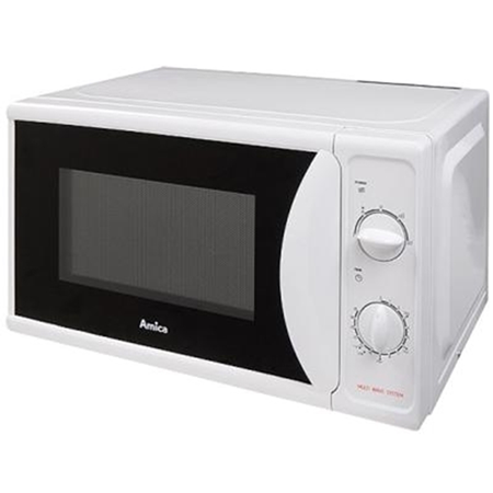 Amica AMM20M70VP, 700W Microwave Oven with Dial Controls