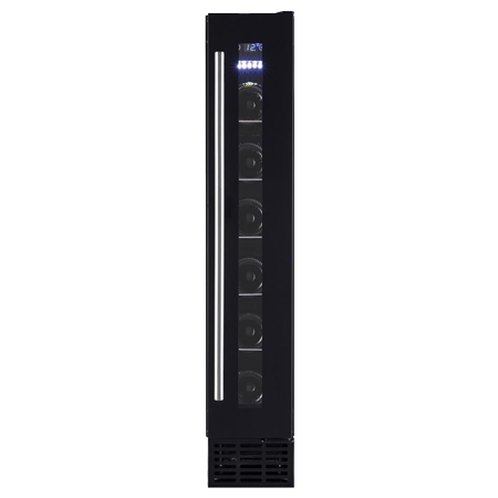 Amica AWC150BL, Wine Cooler - Black, Energy Efficiency - B