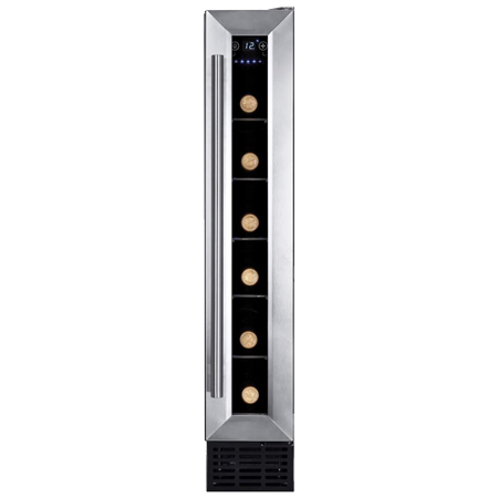 Amica AWC150SS, Wine Cooler - Stainless Steel - Energy Efficiency - B