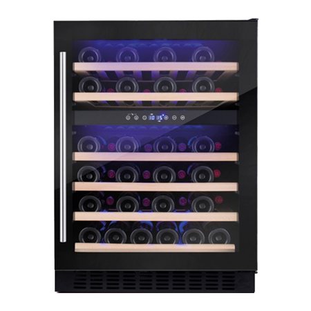 Amica AWC600BL, Wine Cooler - Black - B Rated