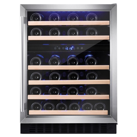 Amica AWC600SS, Wine Cooler - Stainless Steel, Energy Efficiency - B