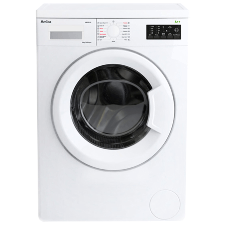 Amica AWI814L, 8kg Washing Machine with 1400rpm spin speed