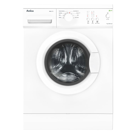 Amica WMA712, 7kg White Washing Machine with 1200RPM Spin