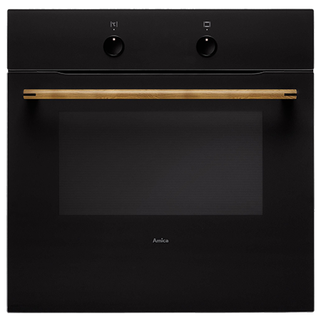 Amica ZENBLACK, Multifunction Built In Electric Single Oven A Rated
