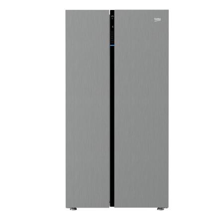 BEKO ASGL142X, US Style Side by Side Fridge Freezer IceStainless Steel