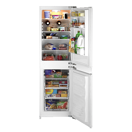 BEKO BC502C, Fully-Integrated Static Fridge Freezer with A+ Energy Rating