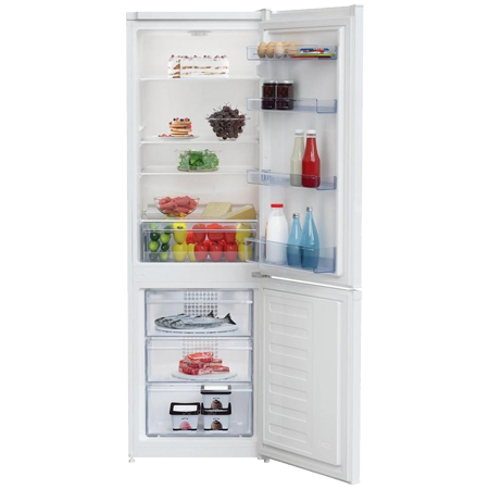 BEKO CCFM1571W, 55cm Frost Free Fridge Freezer - White - A+ Rated