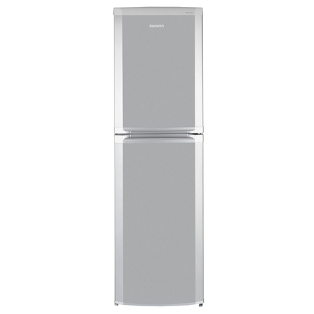 BEKO CF5015APS, Freestanding Frost Free Fridge Freezer in Silver