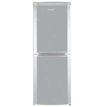 BEKO CF5533APS, Freestanding Frost Free Fridge Freezer in Silver