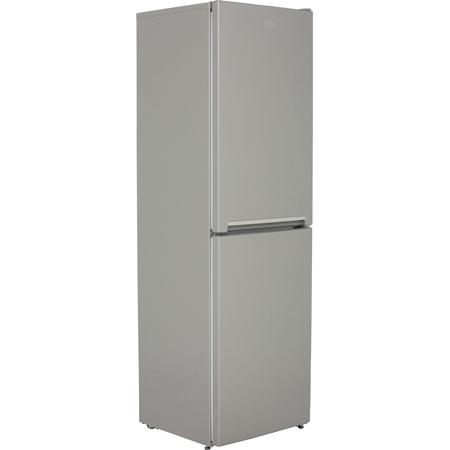 BEKO CFG1582S, Freestanding Frost Free Fridge Freezer Silver