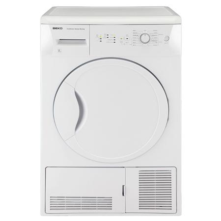 BEKO DCSC821W, 8kg Condenser Tumble Dryer