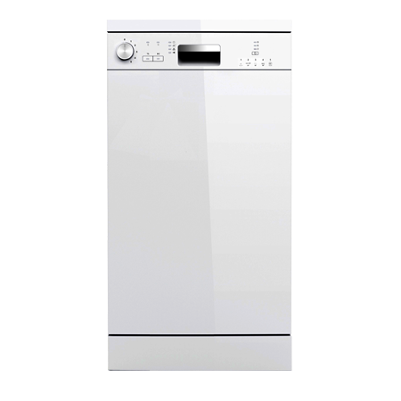 BEKO DFS04C10W, Freestanding Slimline Dishwasher  with A+ Energy Rating