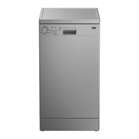 BEKO DFS05010S, Freestanding Dishwasher with 10 Place Settings Silver