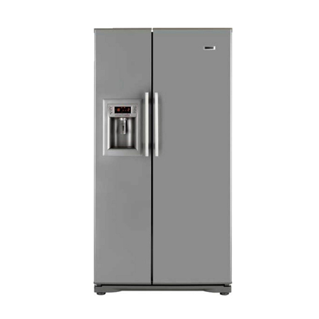 BEKO GNEV321APX, Stainless Steel Side by Side Fridge Freezer with Plumbed-in water and ice dispenser