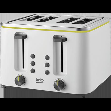 BEKO TAM4341W, TAM4341W 4 Slice Toaster