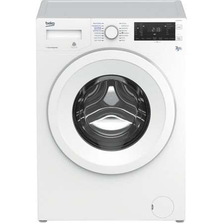 BEKO WDC7523002W, 7kg 1200rpm Smart Washing Machine White