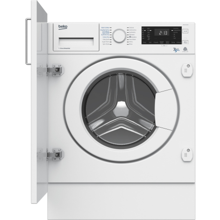 BEKO WDIC7523002, Built-In 7kg 1200rpm Washer Dryer White