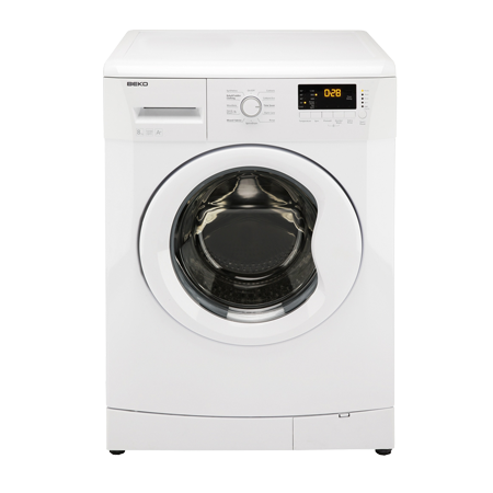 BEKO WMC1282W, 8kg 1200rpm Washing Machine with A+++ Energy Rating