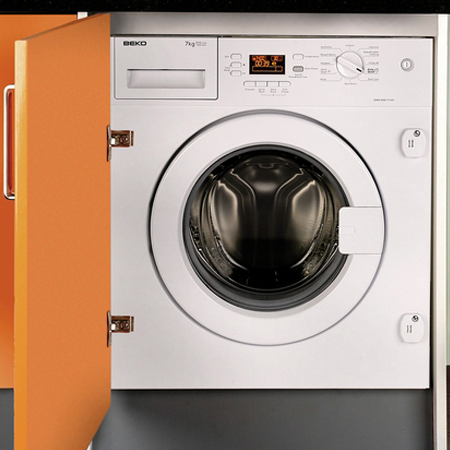 BEKO WMI71441, Fully Integrated 7kg Washing Machine. Ex-Display Model