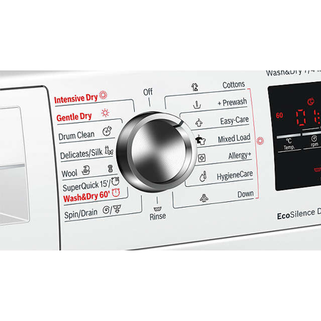 Bosch Wvg30462gb 7kg Washer 4kg Dryer With 1500rpm In