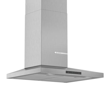 BOSCH DWQ66DM50B, Slim Pyramid Chimney extractor hood Brushed steel.Ex-Display Model