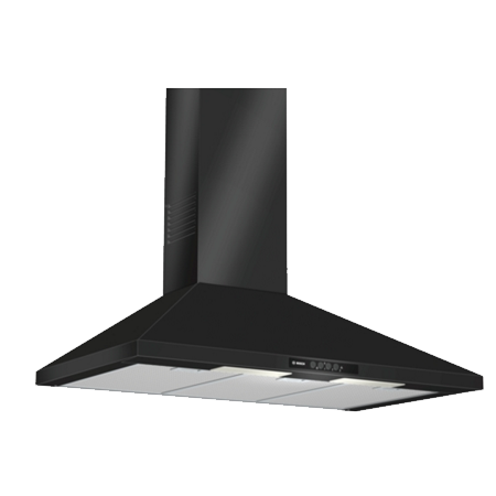 BOSCH DWW09W460B, Classixx 90cm 3 speed Chimney Hood Black