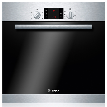 BOSCH HBA23B150B, Classixx Multifunction Single Oven Brushed Steel