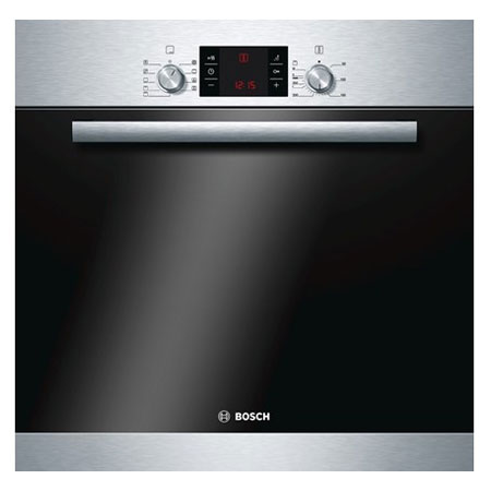 BOSCH HBA53B150B, Built-In 60cm Multifunction Electric Single Oven