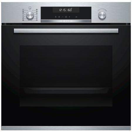 BOSCH HBG5785S0B, Built In Electric Single Oven - Stainless Steel - A Rated