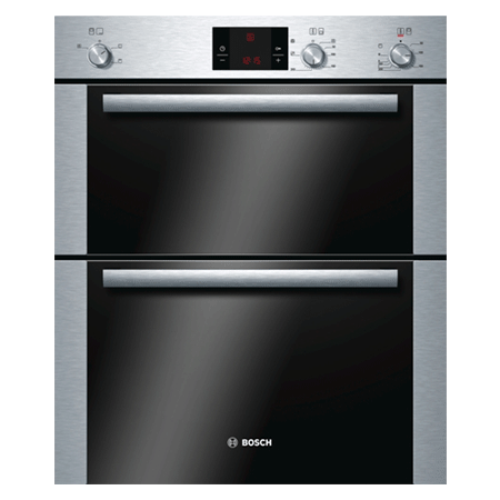 BOSCH HBN13B251B, Classixx Multifunction Double Oven Brushed Steel.Ex-Display Model