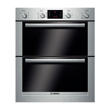 BOSCH HBN53R550B, Exxcel Multifunction Double Oven Brushed Steel