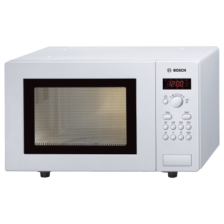 BOSCH HMT75M421B, Freestanding 800W Microwave Oven White