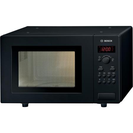BOSCH HMT75M461B, Freestanding 800W Microwave Oven Black