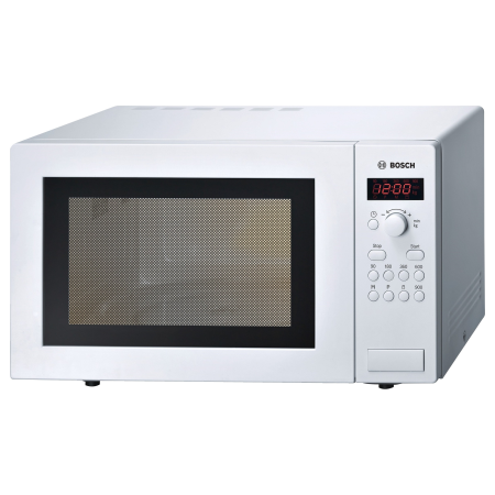 BOSCH HMT84M421B, Freestanding 900W Microwave Oven White